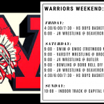 Warriors Weekend – Jan. 24-26