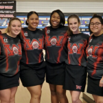 Girls Bowling Breaks Record