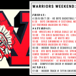 Warriors Weekend – Feb. 7-9 – Games are on for tonight