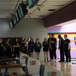 Senior Night!  Bowling Team!!!!
