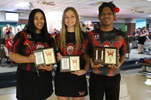 Senior Night!  Bowling Team!!!!