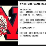 Warriors Game Day – Feb. 18 & 19