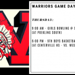 Warriors Game Day – Feb. 20