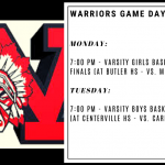 Basketball Sectionals – Feb. 24 & 25