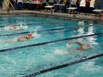 Wayne High School Swim Team Swims First Meet