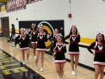 Warrior Cheer pushing for a Victory