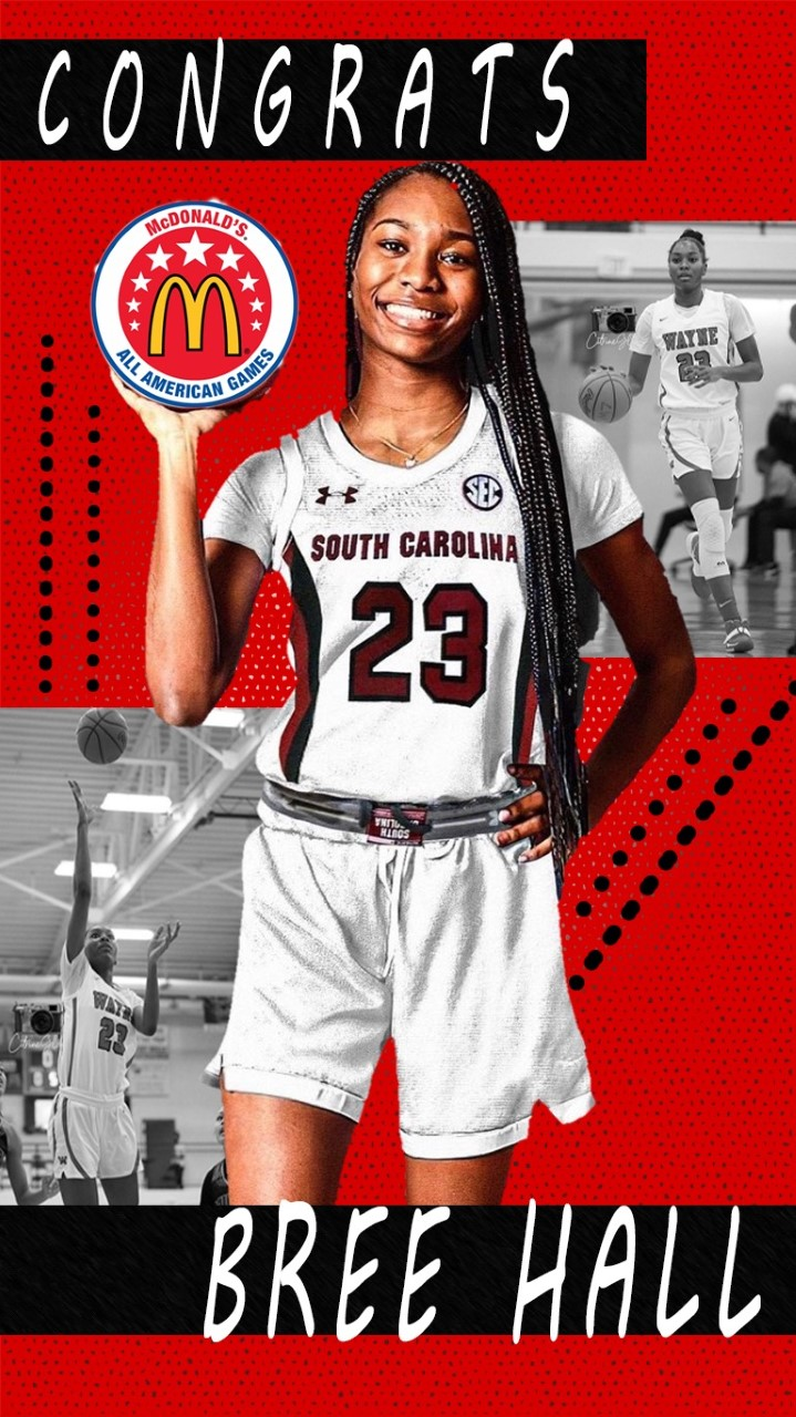 Bree Hall – McDonalds All-American