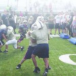 Decatur Central camp focuses on football fun