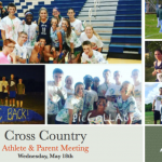 2016 Cross Country Athlete & Parent Meeting