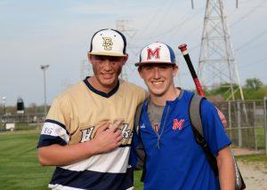 Varsity Baseball vs Martinsville 4-19-17