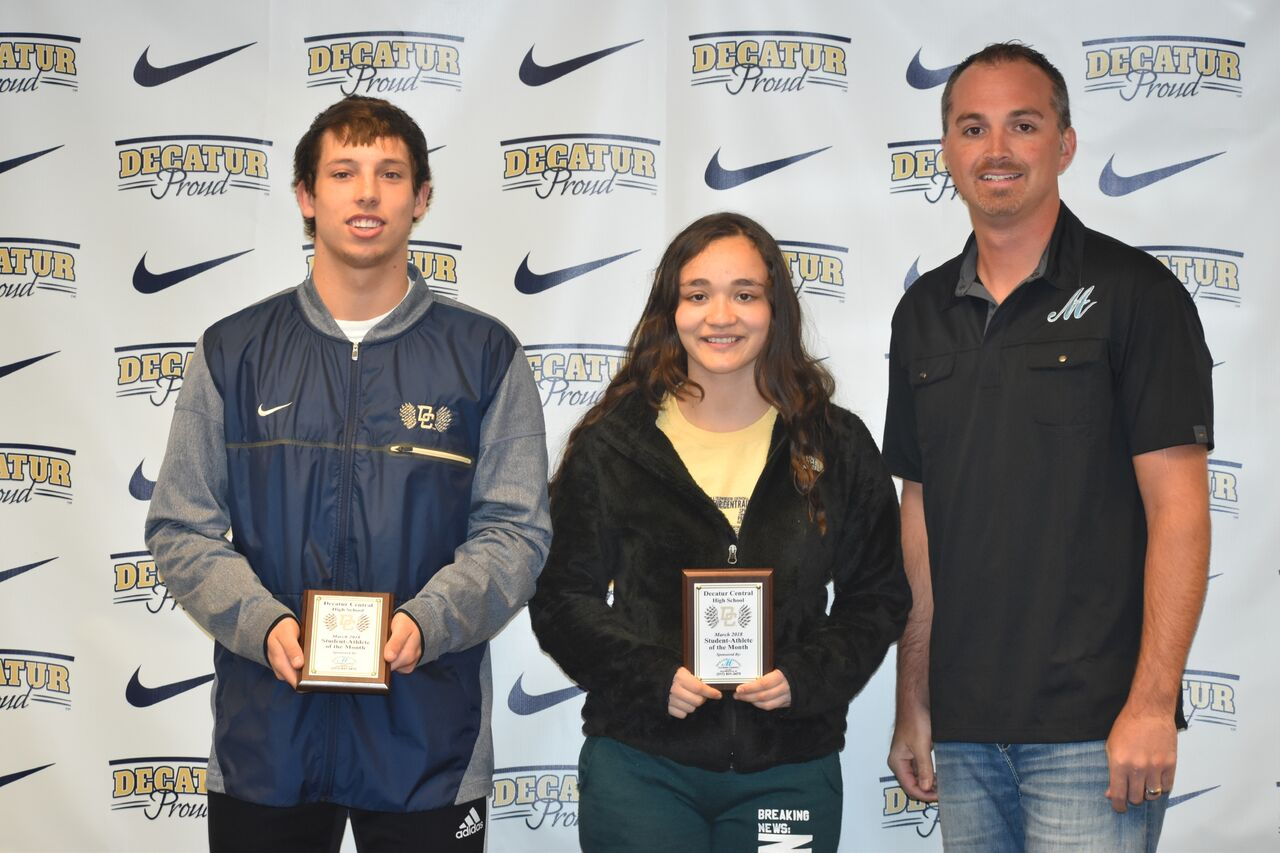 March 2018 Student-Athlete of the Month
