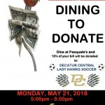 Girls Soccer Dine & Donate TODAY @ Pasquale's