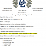 DCHS Girls Soccer Hosts Youth Soccer Camp 7/24-7/26