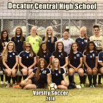 Girls Varsity Soccer Breaks 2017 Season Goal Record