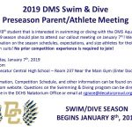 2019 DMS Swimming & Diving Team Information