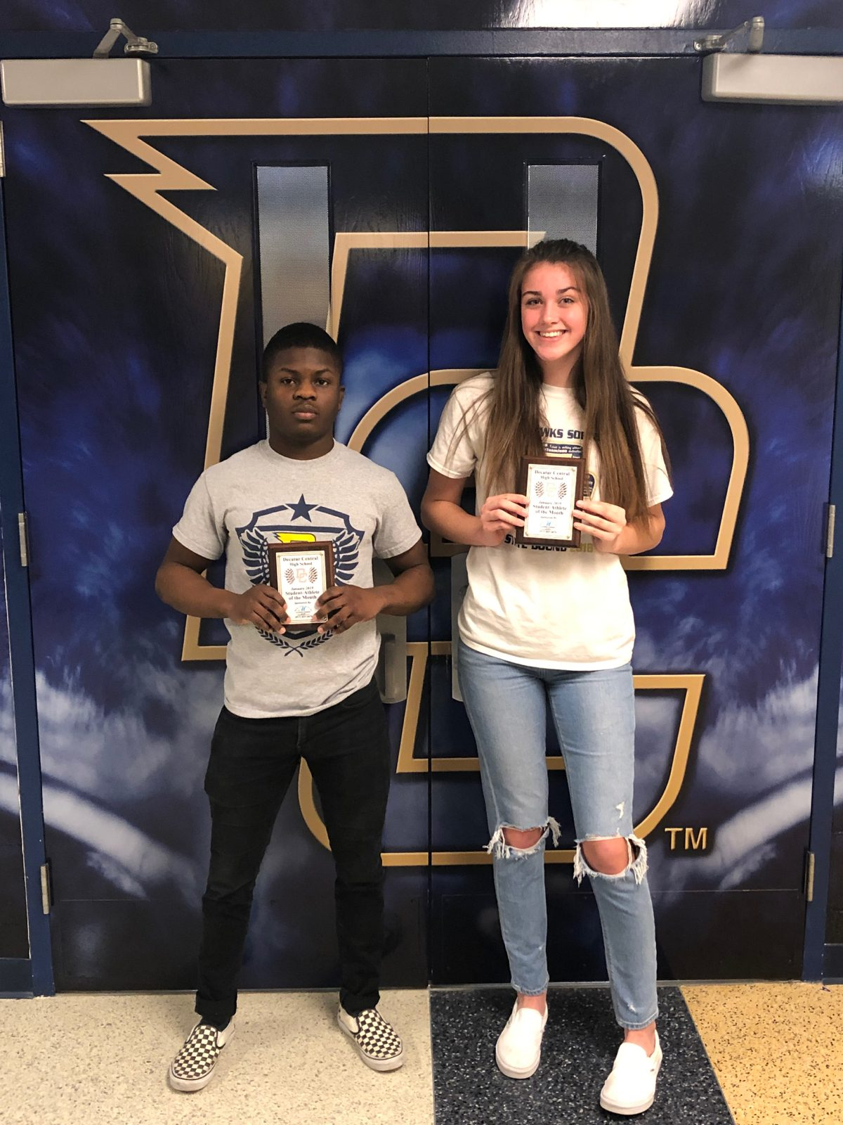 Marion Adams Flooring Athletes of the Month- January 2019