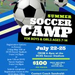 Summer Youth Soccer Camp