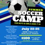 Youth Soccer Camp – 1 Week Left To Register!