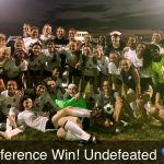 Girls Varsity Soccer gets 1st Conference Win of the Season 3-2 over Perry Meridian