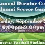 DCHS Girls Soccer Hosting our 1st Annual Soccer Alumni Game 9/28