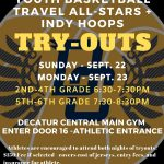 Youth Basketball Travel Team Tryouts