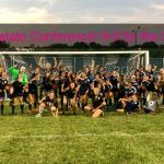 Girls Varsity Soccer with a heart-pounding WIN over Martinsville 8-7