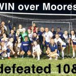Girls Varsity Soccer 1st Time in History WIN 4-1 over Mooresville