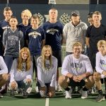 Hawks Clinch 5-0 Clean Sweep Over Lutheran On Senior Night