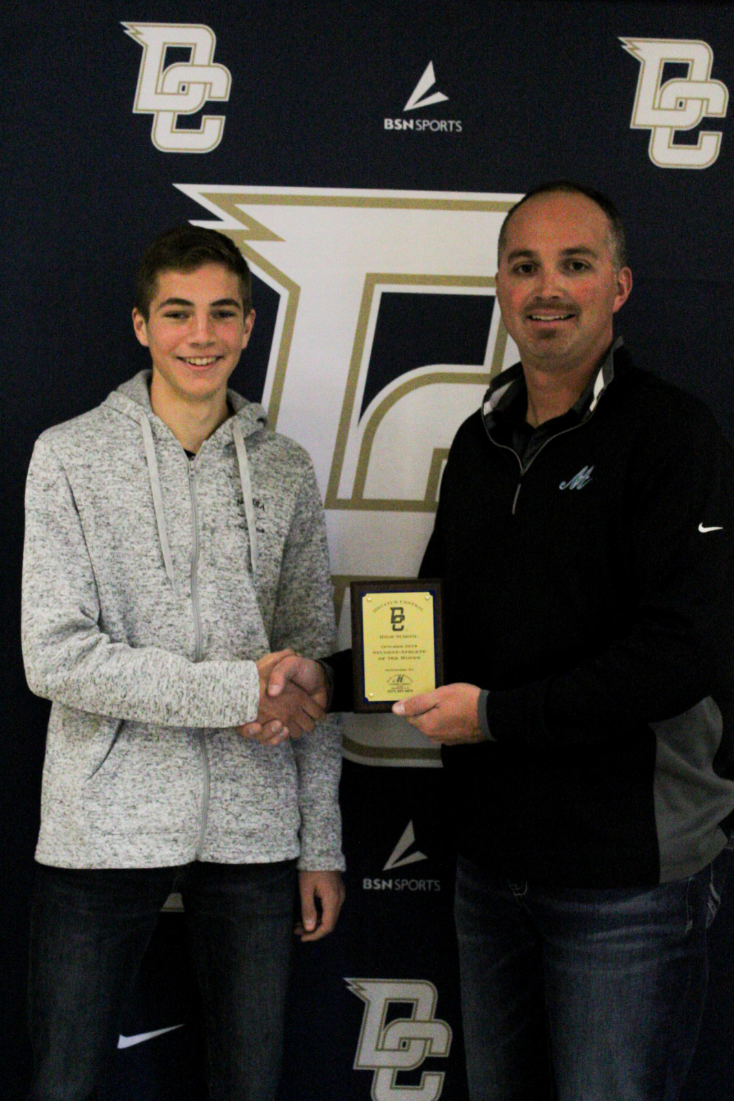 Marion Adams Flooring Athletes of the Month- October 2019