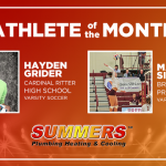 Results Are In! Summers Plumbing, Heating & Cooling October Athlete of the Month is…