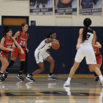 Girls Varsity Basketball falls to Marion County Vs. Southport 42 – 30