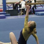 January 14, 2020 Varsity Gymnastics vs Roncalli, Morristown and Martinsville