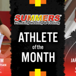 The Summers Plumbing Heating & Cooling January Athlete of the Month is…