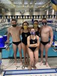 Aquahawks Split Senior Night with the Hornets