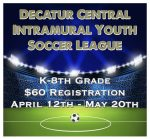1st Annual – DC Intramural Youth Soccer League Registration