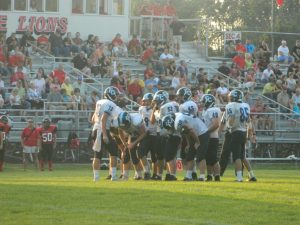 Football Vs. Rushville