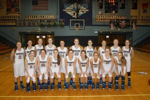 Girls Basketball Military Night Images
