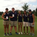 Franklin County High School Girls Varsity Golf finishes 2nd place