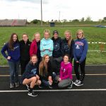 Franklin County High School Girls Varsity Track finishes 1st place