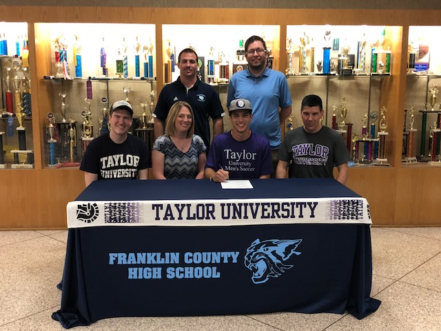 Kyle Grubb signs with Taylor University