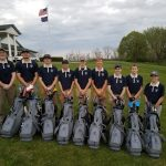 Franklin County Athletic Boosters Buys New Golf Bags for Golf Team
