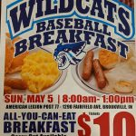 FCHS Baseball Program to Host All-You-Can-Eat Breakfast May 5th