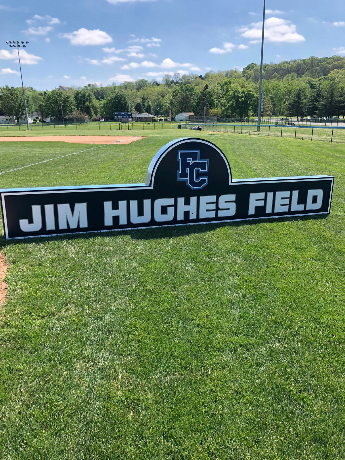 Purchase Brick Paver for Jim Hughes Field