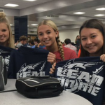 Franklin County Athletic Boosters Buys Shirts for FCHS Athletes