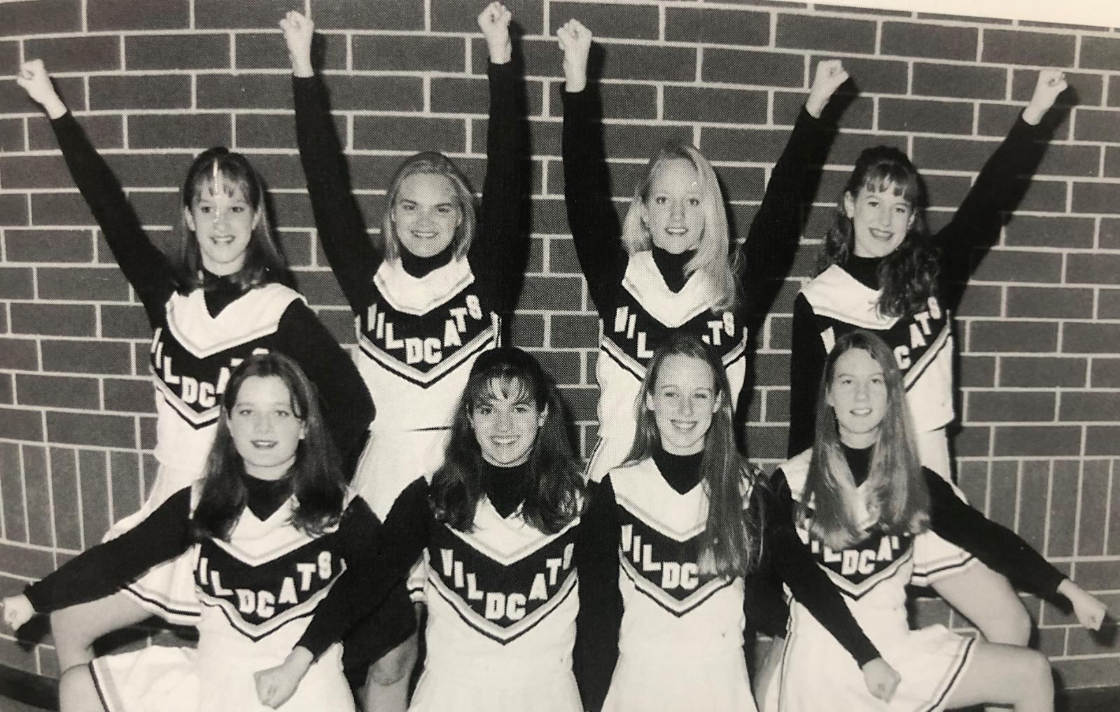 Throwback Thursday…1997-1998 Cheerleaders