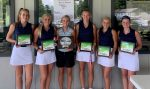 Girls Varsity Golf finishes 1st place at Union County High School – Invite