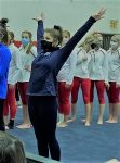 Audrey Harper Competes for Franklin County in Gymnastics
