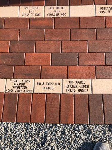 Jim Hughes Field Brick Paver Project – Another Chance