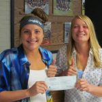 Girls Golf selected for $500 Fundraising Check