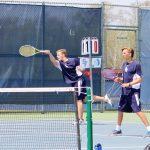 Saint Francis High School Boys Varsity Tennis falls to Fridley High School 3-4